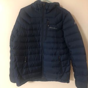 Eddie Bauer Men's Medium Downlight Hooded jacket